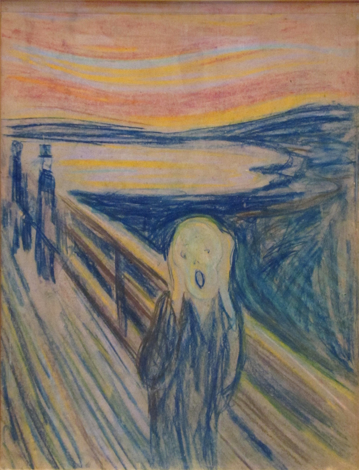 edvard munch the scream Edvard munch's famous painting the scream is arguably one of the most recognizable paintings in the world the painting, which is often referred to as an icon of.